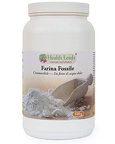 Terra Diatomacea polvere 500g (acqua dolce, di qualità alimentare) 100% naturale, non OGM, senza stearato di magnesio, additivi o riempitivi, ingredienti accuratamente selezionati, Prodotto in Galles