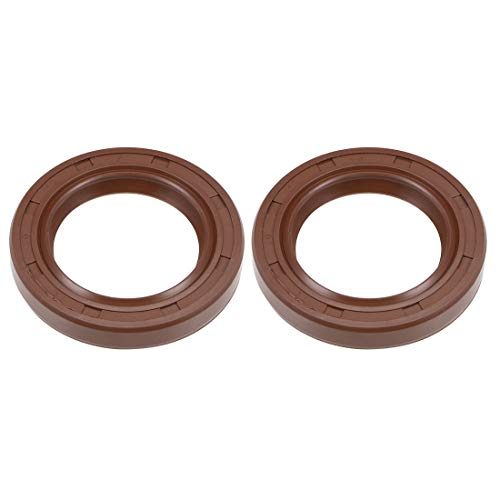 NBR 23710 Double Lip Oil Seal CRWHA1 Design 2.375 in Shaft Lip Material CR Seals 0.438 in Width 3.350 in OD Nitrile Rubber SKF Solid