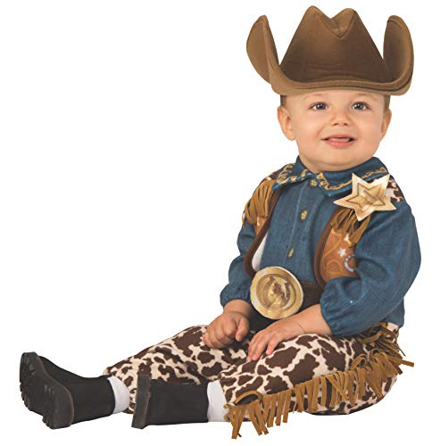 Rubie's Kid's Opus Collection Lil Cuties Little Cowboy Costume Baby Costume, As Shown, Infant