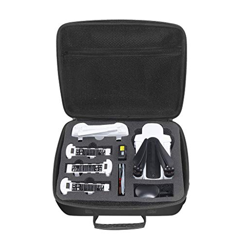 Outdoor Portable Drone Case Suitcase, Hard Portable Waterproof One Shoulder Storage Bag Travel Carry Case, Compatable for Hubsan H117S Zino, 12 X 10 X 4.4 in, Black