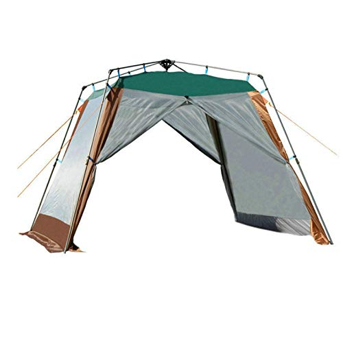 TWDYC Ultralarge 4-6 Person Camping Tent Large Gazebo Beach Tent Sun Shelter