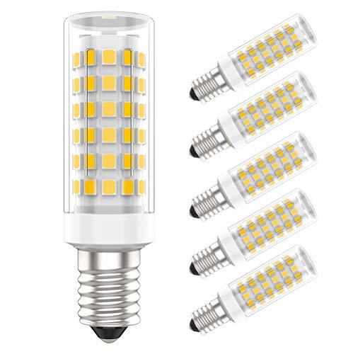 5er Pack E14 LED Lampe,9W Ersatz für 70W Halogenlampen,Warmweiß 3000K,700lm,LED Birnen,LED Leuchtmittel AC 220V - 240V
