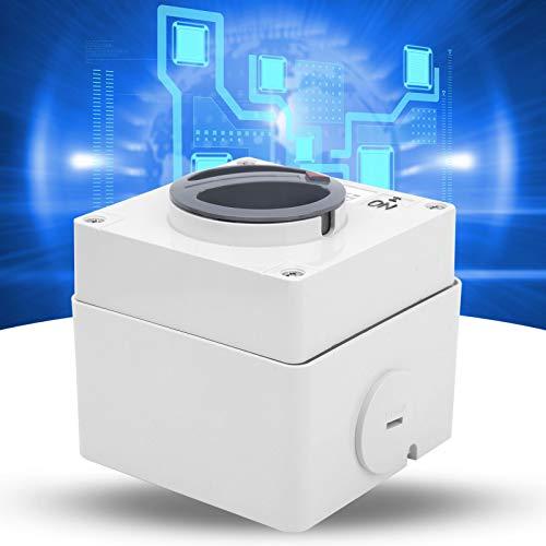 Botones Indicadores Interruptor giratorio de encendido y apagado Interruptor aislante giratorio Componentes de control industrial para exteriores(1P 20A, pink)
