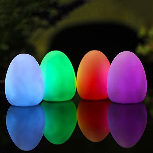 XHSHLID 7 kleuren Egg Night Light Stim Autismo Esigenzen speciale camera multisensorisch slaapkamer party binnenverlichting