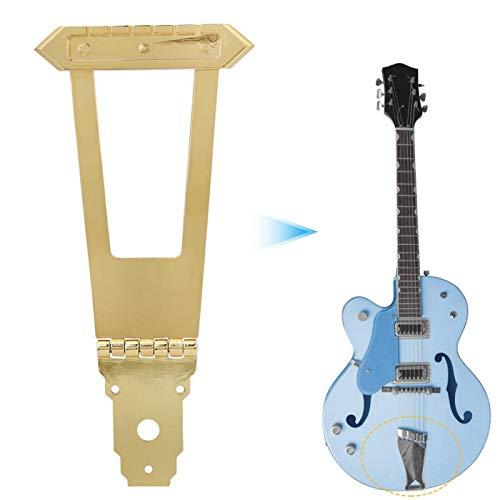 Instrumentenzubehör Jazz Gitarren Saitenhalter, Für Gitarrenliebhaber Für professionelle Gitarristen(Golden)