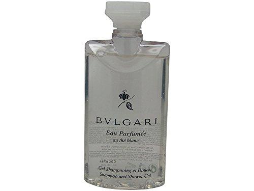 Bvlgari au the blanc (white tea) Shampoo and Shower Gel 2.5oz Set of 6