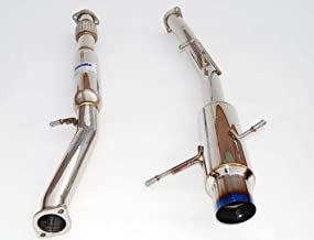 Invidia (HS02SW1GTP) N1 Cat-Back Exhaust System with Stainless Steel Tip for Subaru WRX STI