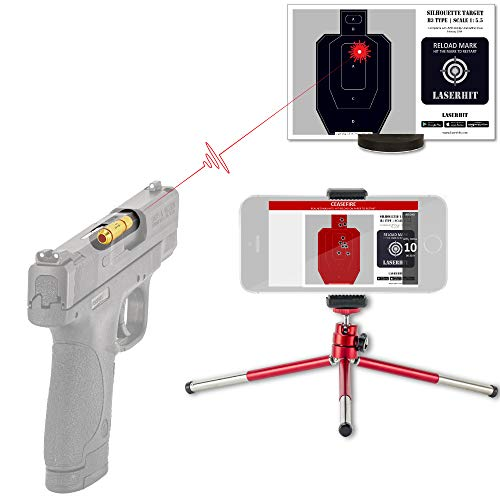 LaserHIT Dry Fire Training Kit (9mm/HD-A5, iOS)
