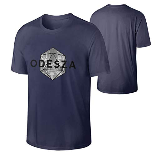 Odesza Soft Man Summer Tops Short Sleeve Tshirts Navy L