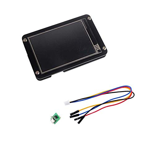 Nextion Enhanced 5.0 Display NX8048K050 Resistive Touch Screen HMI LCD Module 800x480 TFT Panel + Acrylic Case Black for Arduino Raspberry Pi (5 inch)