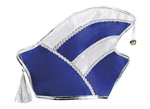 Boland 02003 Komitee Mütze blau/weiß