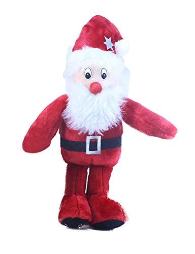 Tickles Red Santa Claus Christmas with Gifts Stuffed Soft Plush Toy for Kids (Red Santa Claus, 30cm)