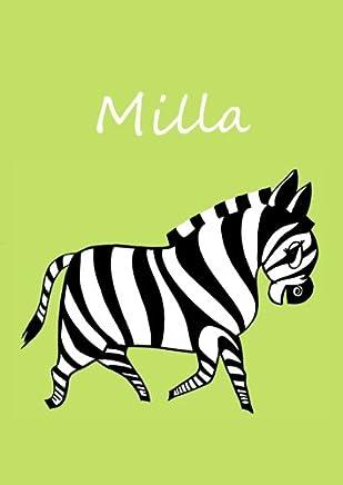 Malbuch/Notizbuch/Tagebuch - Milla: A4 - blanko - Zebra
