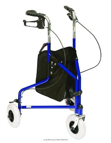 3 Wheeled Rollator, 3 Whl Rollator Blue -Sp, (1 EACH, 1 EACH)