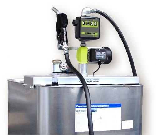 Hoftankstelle - Profi - Horn - 1000 Liter Dieseltank mit Pumpe