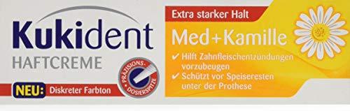 Kukident Haftcreme Med+Kamille Zahnreiniger, 1er Pack (1 x 40 g)