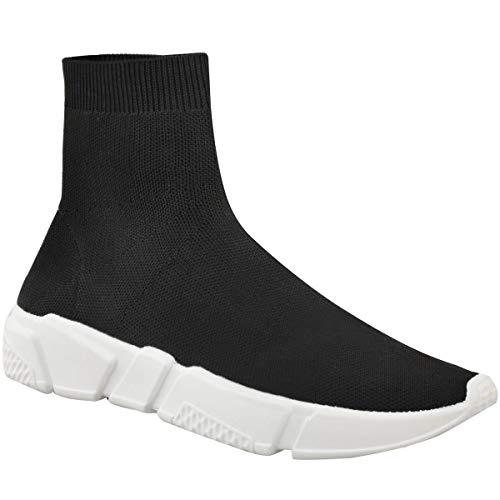 Mujer Zapatillas Calcetines Corredores Cómodo Speed Punto Gimnasio Zapatos Talla