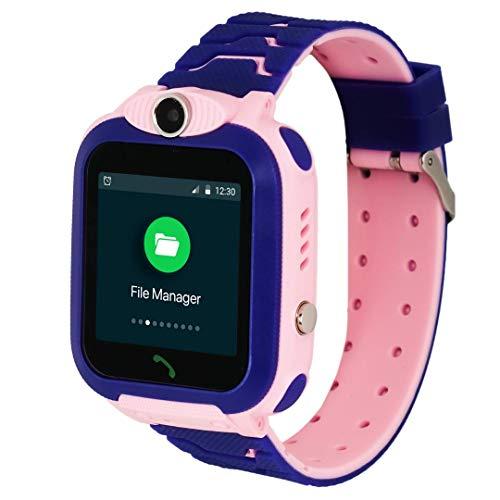 Turet Kids Phone Smartwatch with GPS Locator - Marshmallow (Blue)