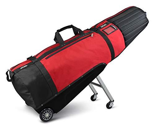 Sun Mountain Clubglider Meridian Travel Bag, Black/Red