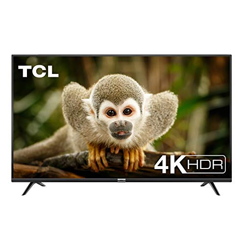 TCL 50DP602 Televisor de 50 pulgadas, Smart TV con UHD 4K, HDR, Dolby Digital Plus, T-Cast y sintonizador Triple, Color Negro