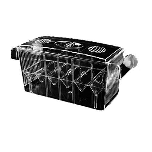 wwzEITpV Selbst Schwimmdock Fish Hatchery Box Multi-funktions-Double-Layer-Fisch-behälter-Fisch-brutkasten Selbst Schwimmdock Fish Hatchery