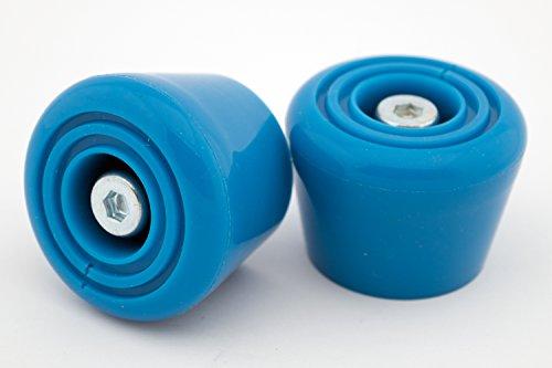 Rio Roller,  Rollschuh-Bremsstopper, Unisex, Erwachsene Einheitsgröße blau