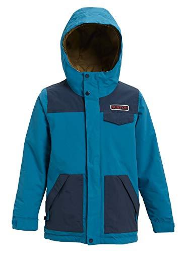 Burton Jungen Dugout Snowboard Jacke, Celestial/Mood Indigo, L