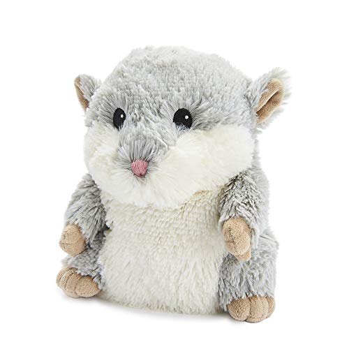warmies Hamster Plüschtiere grau 0,76 kg