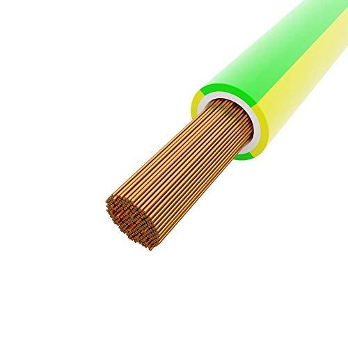 100m Kabel 6mm2 grün-gelb H07V-K BiTOne® 450/750V Leitung 5555