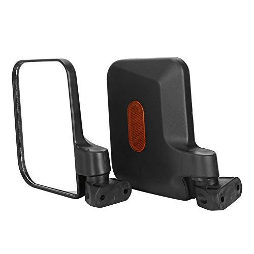VGEBY1 Paar Rückspiegel für Dreirad Kleintransporter E-Blikes Scooter Motorrad Kunststoff Schwarz