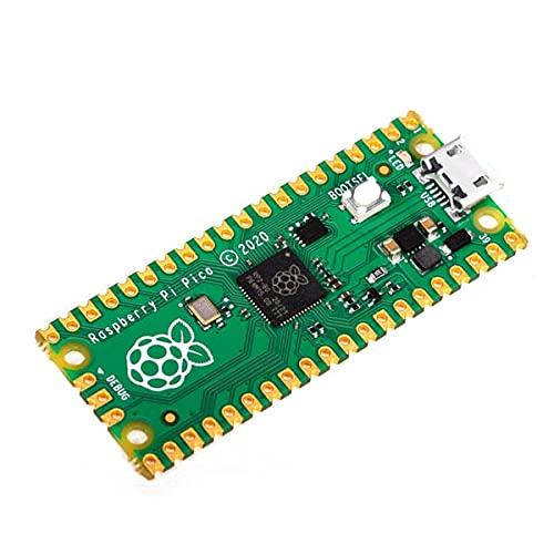Raspberry Pi Pico ラズベリーパイピコ マイコンRP2040(Arm Cortex-M0+デュアルコア@133MHz (1個)
