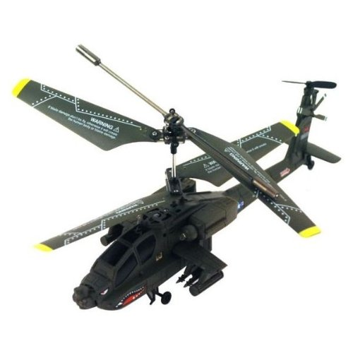 NC® BRAND - NEW GENUINE SYMA S109G 3CH GYRO RTF MINI APACHE INDOOR RC HELICOPTER WITH AC CHARGER