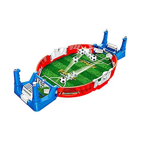Mini Mesa De Futbolín Juegos,Mesa de Juego de futbolín Mini Juego de Arcade de Mesa de fútbol Juego de fútbol de Escritorio en Miniatura para niños Fiesta Familiar,38 * 18.5 * 8cm