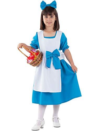DISBACANAL Disfraz Alicia en el País de Las Maravillas niña - -, 4 ...