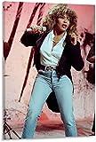 JSYEOP Musik Tina Turner Canvas Kunst Poster und Wandkunst