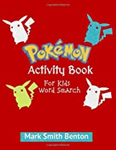 Pokemon: Activity Book for Kids: Word Search