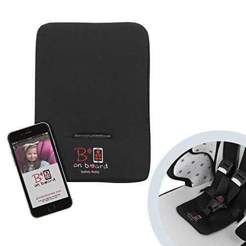 dispositivo anti abbandono e safety B ON BOARD Dispositivo anti abbandono - Applicazione abbinata ad uno Smart pad - ricaricabile con cavo USB incluso - Safety Baby