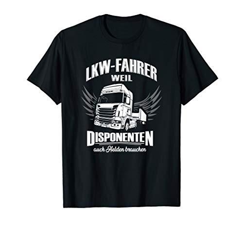 Herren LKW Fahrer T Shirt Geschenk für Trucker Fernfahrer T-Shirt