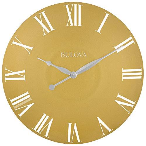 Bulova C4870 Lexington Wall Clock, Gold