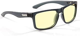 GUNNAR Gaming and Computer Eyewear /Intercept, Amber Tint - Patented Lens, Reduce Digital Eye Strain, Block 65% of Harmful Blue Light