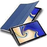 Cadorabo Funda Tableta para Samsung Galaxy Tab S4 (10.5' Zoll) T830 / T835 in Azul Oscuro Jersey –...