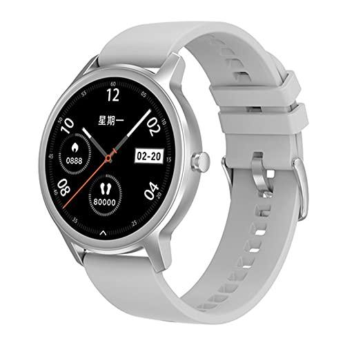 YYZ DT56 Smart Watch Men's 1.28 Pulgadas Pantalla Redonda Deportes SmartWatch Presión Arterial Fitness Tracker IP67 Pulsera Impermeable Mujer,B