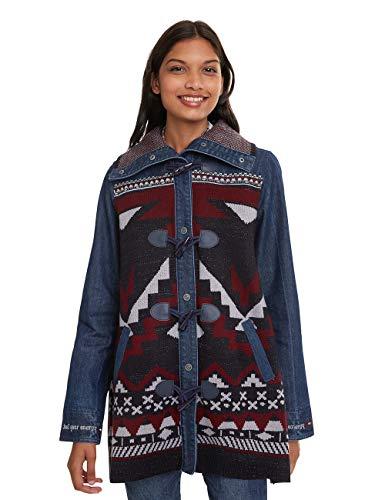 Desigual Coat Navai Abrigo para Mujer