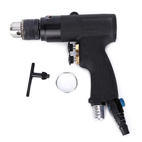 Taladro neumático Aleación de taladro de aire, Taladro neumático Aleación CW/CCW Herramienta de perforación de aire industrial 3/8in 1.0-10mm 1500rpm