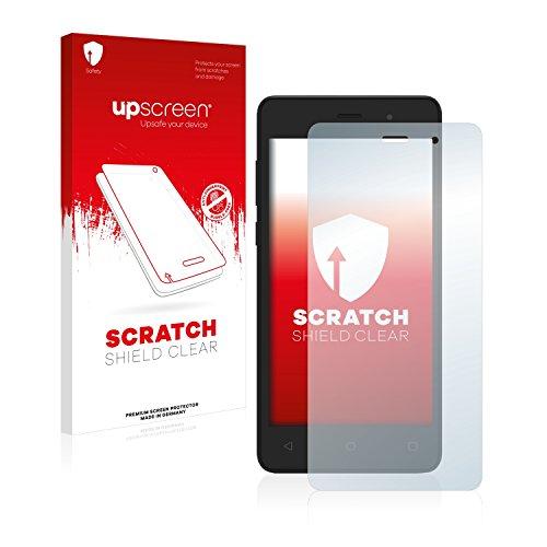 upscreen Schutzfolie kompatibel mit Archos 45d Platinum – Kristallklar, Kratzschutz, Anti-Fingerprint
