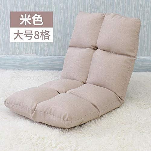 Yqs Bodenstuhl Fauler Sofacouchcouchreis einen einzelnen kleinen Rückwelle Fenster Bettboden Sofa Klappstuhl (Color : Model 2) Model 8