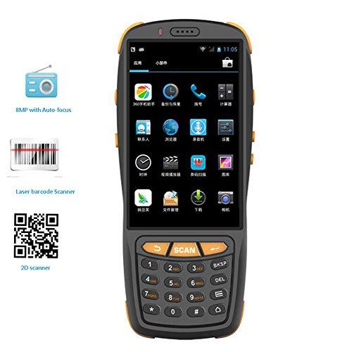 LLC-POWER Android Handheld-Terminal 4G WiFi Bluetooth GPS 8.0M Kamera, 4,0 Zoll Touch Screen, Unterstützung 1D 2D-Barcodes, Für Lager Supermarkt Retails Lager Inventar