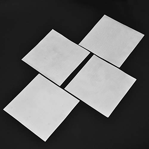 Without brand SSB-JIAODAI, 5Pcs 140x140x0.2mm High Purity 99,9% reines Blatt Platten-Zink-for Science Lab Werkzeuge Zubehör
