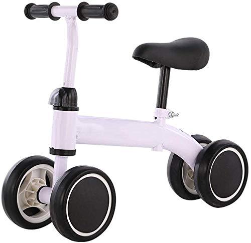 Bicicleta de equilibrio para bebé, triciclo para bebé, sin pedales, para niños de 1 a 4 años, para niños y niñas, niños y niños pequeños, ideal como regalo de cumpleaños