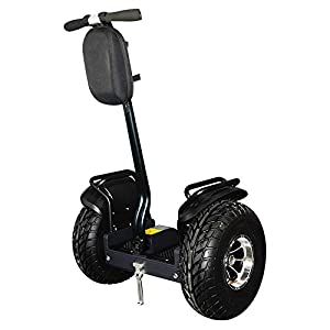 eco-glide Smart Self Balance Scooter Personal Transporter 19 inch All Terrain Tires (Black)